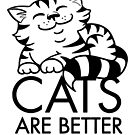 Cats Are Better Than People by helenasia