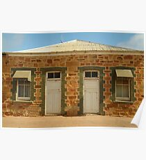 Joe Mortelliti Gallery - Historic Terowie township, South Australia Poster