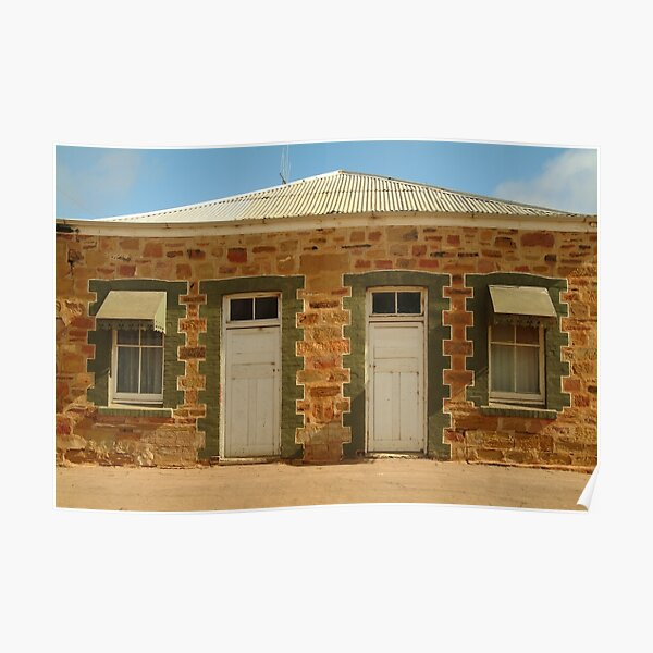 Joe Mortelliti Gallery - Historic Terowie township, South Australia Poster