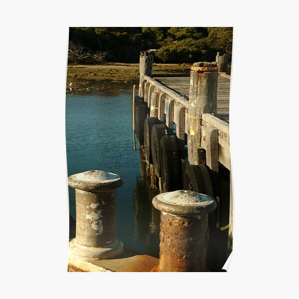 Joe Mortelliti Gallery - Jetty at Robe, South Australia. Poster