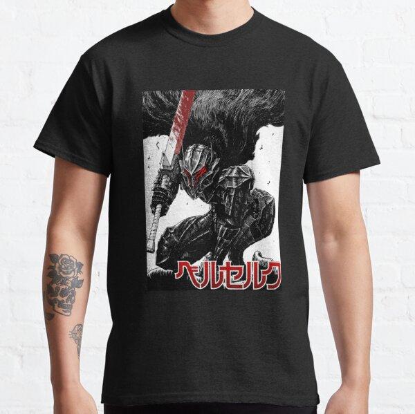 Berserk Guts Berserker αrmσr Rαɠε - Camisetas para hombre Graphic Vintage - La mejor camiseta retro para mujer de moda - Camiseta para Camiseta clásica