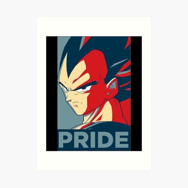 Vegeta Pride Essential TShirt441 Impression artistique