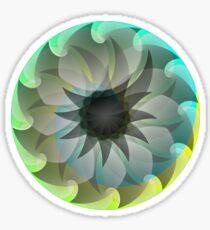 Spiral Shark Sticker