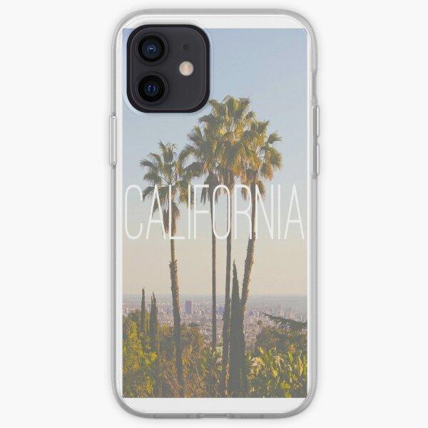Palmas de California Funda blanda para iPhone