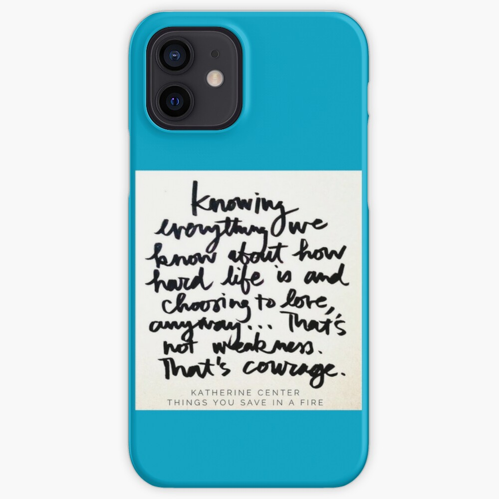 THAT'S COURAGE iPhone Case & Cover