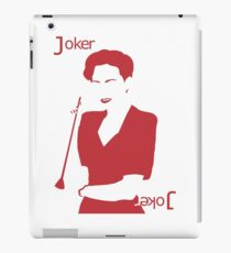 Minimalist Irene Adler - Joker iPad Case/Skin