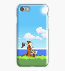 calvin and hobbes Fun iPhone Case/Skin