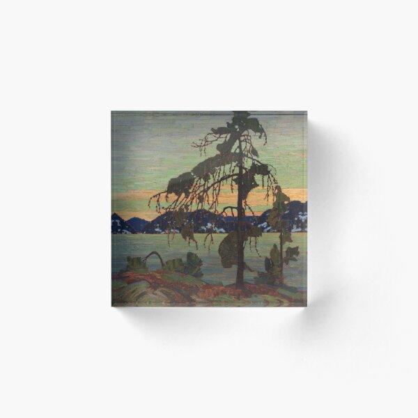 The Jack Pine by (1916) Tom Thomson Acrylic Block