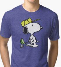Snoopy Golf Tri-blend T-Shirt