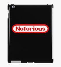 Notorious Nintendo iPad Case/Skin