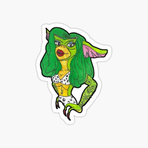 Greta the gremlin fan art Sticker
