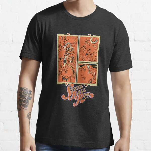 Regalo Vintage Steel Ball Run Camiseta esencial