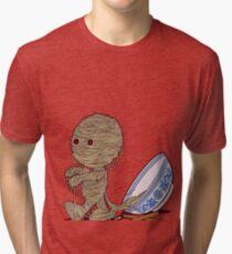 Spaghetti Mummy Tri-blend T-Shirt