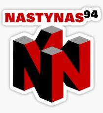Nasty Nas 94 Sticker