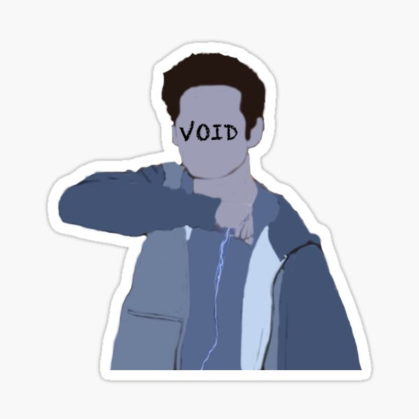Void Stiles Faceless Sticker Sticker
