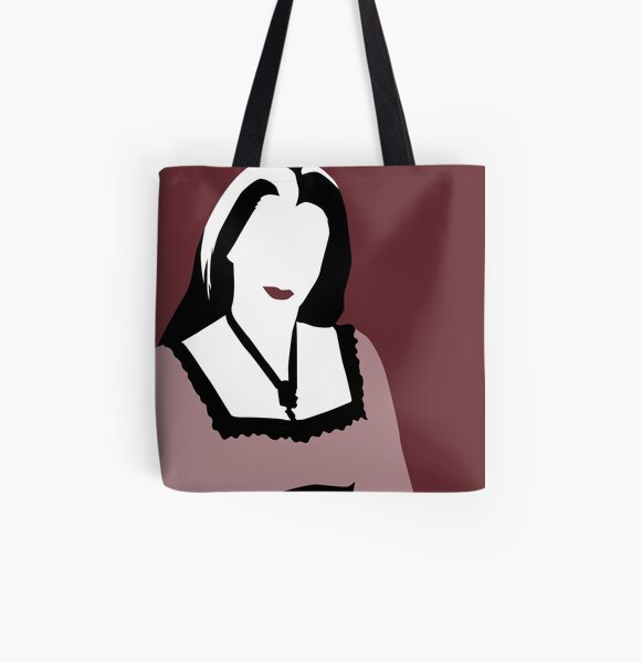 Lily Munster from The Munsters All Over Print Tote Bag