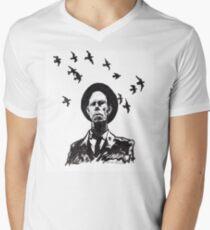 Old Crow Men's V-Neck T-Shirt