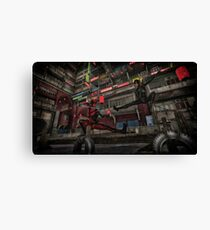 Classic Superheroes  2 Canvas Print
