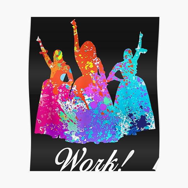 Schuyler Sisters Work Color Gift For Men Woman Kids  Poster