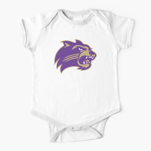 The Western Carolina Catamounts  Short Sleeve Baby One-Piece