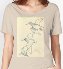 Sketching birds Women's Relaxed Fit T-Shirt