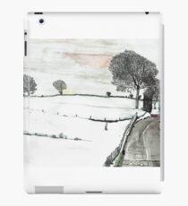 YORKSHIRE SNOW SCENE 2 iPad Case/Skin