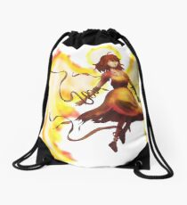 Angel of Vengeance Drawstring Bag
