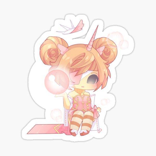 Pink Mage Sticker
