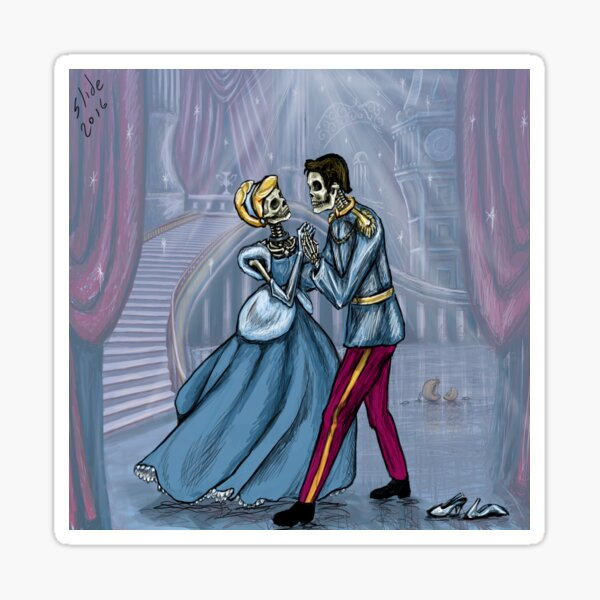 Dancing After Midnight Sticker