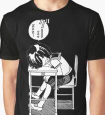 Nazo no Kanojo X (Mysterious Girlfriend X) Sleeping Urabe Graphic T-Shirt