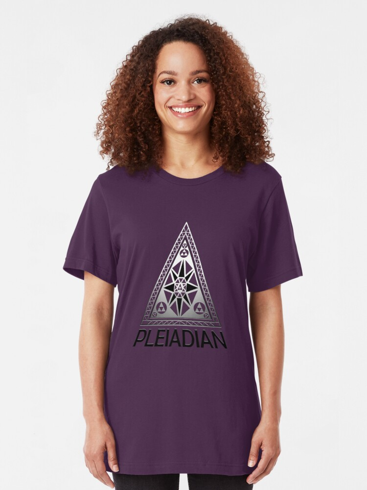 Pleiadians | Slim Fit T-Shirt