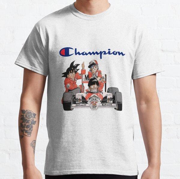 Campeón Dragon Ball Z Goku Bulma Gohan Camiseta clásica