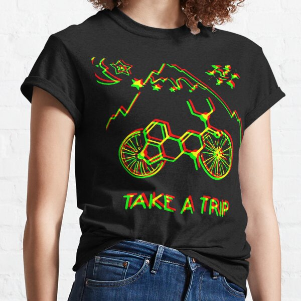 Bicycle Day 1943 Lsd Take A Trip Classic T-Shirt
