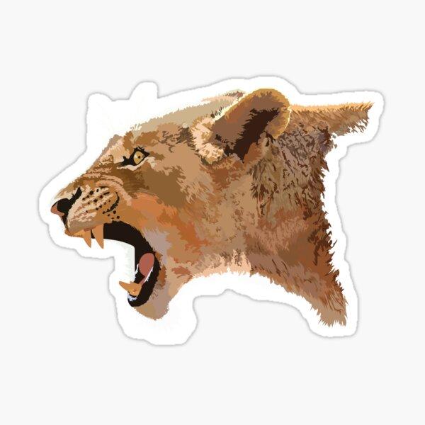 Lioness  Sticker