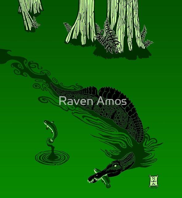 Swamp Dragon by Raven Amos