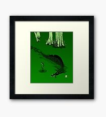Swamp Dragon Framed Print