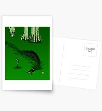 Swamp Dragon Postcards