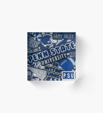 Penn state home decor redbubble for Penn state decorations home