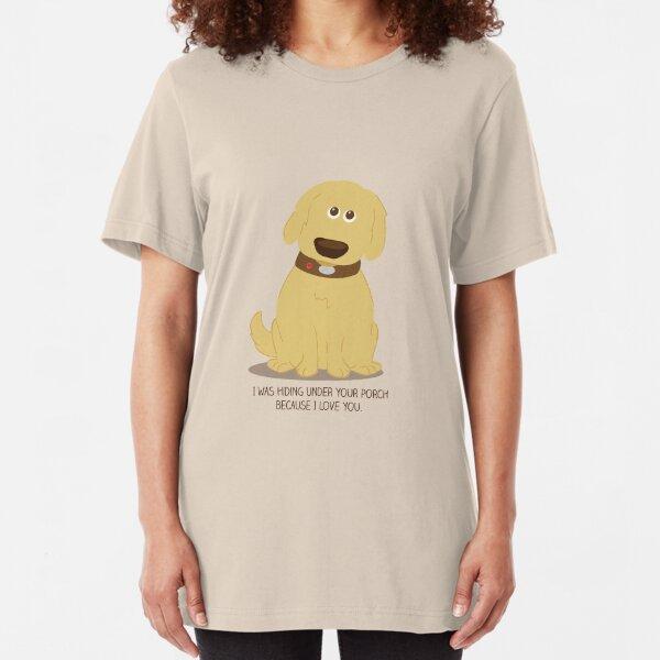 Puppy Love Slim Fit T-Shirt