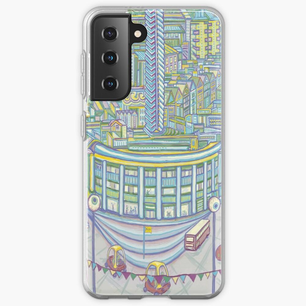 Megatropolis, Caterpillar District  Case & Skin for Samsung Galaxy