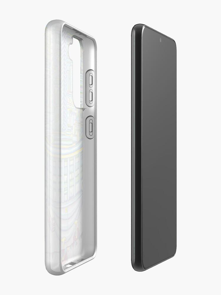 Alternate view of Megatropolis, Caterpillar District  Case & Skin for Samsung Galaxy