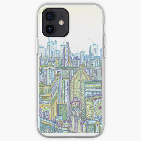Megatropolis, Riddle District iPhone Soft Case