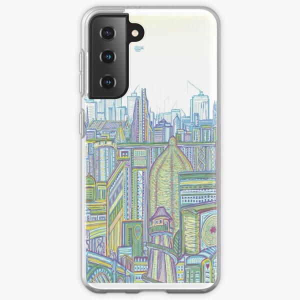 Megatropolis, Riddle District Samsung Galaxy Soft Case