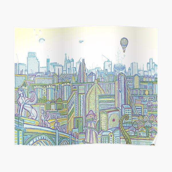 Megatropolis, Riddle District Poster