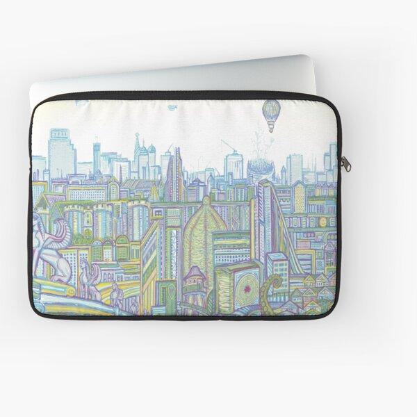 Megatropolis, Riddle District Laptop Sleeve