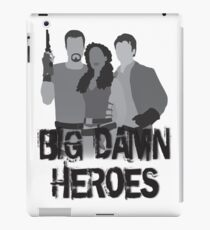 Big Damn Heroes - Firefly poster iPad Case/Skin