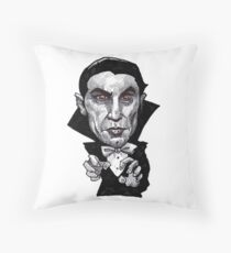Drac Throw Pillow