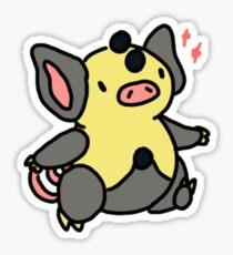 Shiny Grumpig Sticker