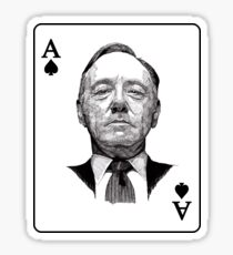 House of Cards Frank ACE Sticker