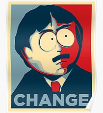 Randy Marsh Change Poster